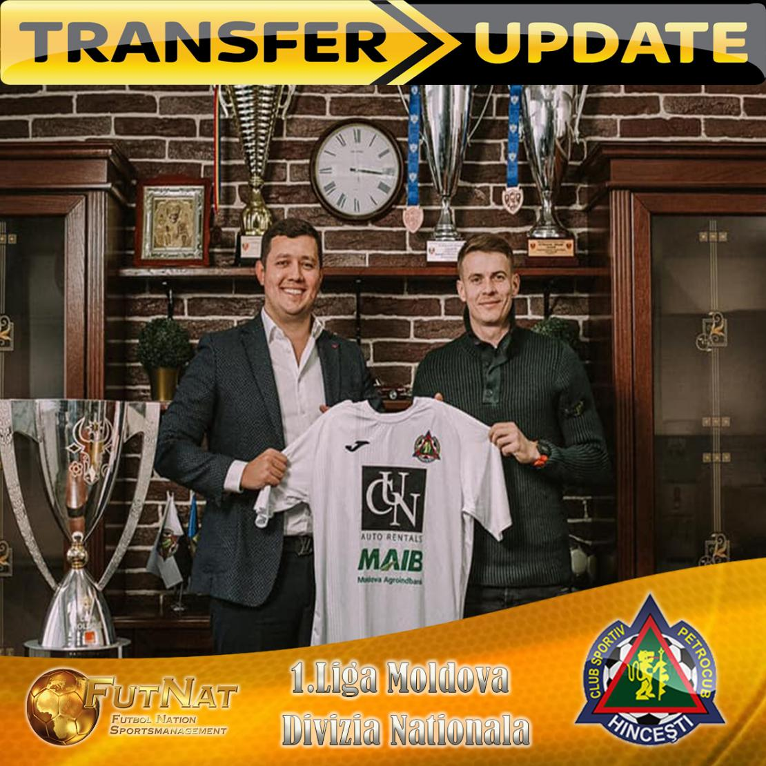 CONSTANTIN SANDU RETURNS TO FC PETROCUB